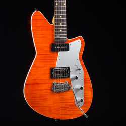 Reverend Double Agent W 20th Anniversary Rock Orange Flame Maple 6897