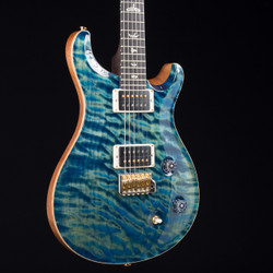 PRS Custom 22 10 Top MMG Exclusive River Blue 7666