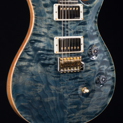 PRS Custom 24 10 Top MMG Exclusive Faded Whale Blue 1410