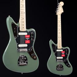 Fender American Pro Jaguar Stratocaster Antique Olive 5595