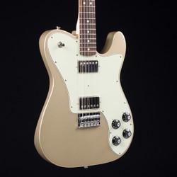 Fender Chris Shiflett Telecaster Deluxe Shoreline Gold 5291
