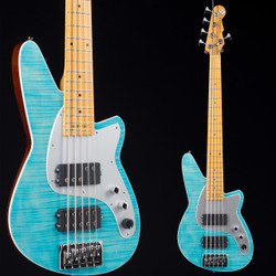 Reverend Mercalli 5 20th Anniversary Sky Blue Flame Maple 8127