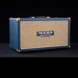Mesa/Boogie 2x12 Compact Rectifier Cabinet Custom Blue Bronco Wicker Grille 5624
