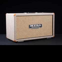 Mesa/Boogie 2x12 Road King Cabinet Custom Fawn Slub Bronco Wicker Grille 4470