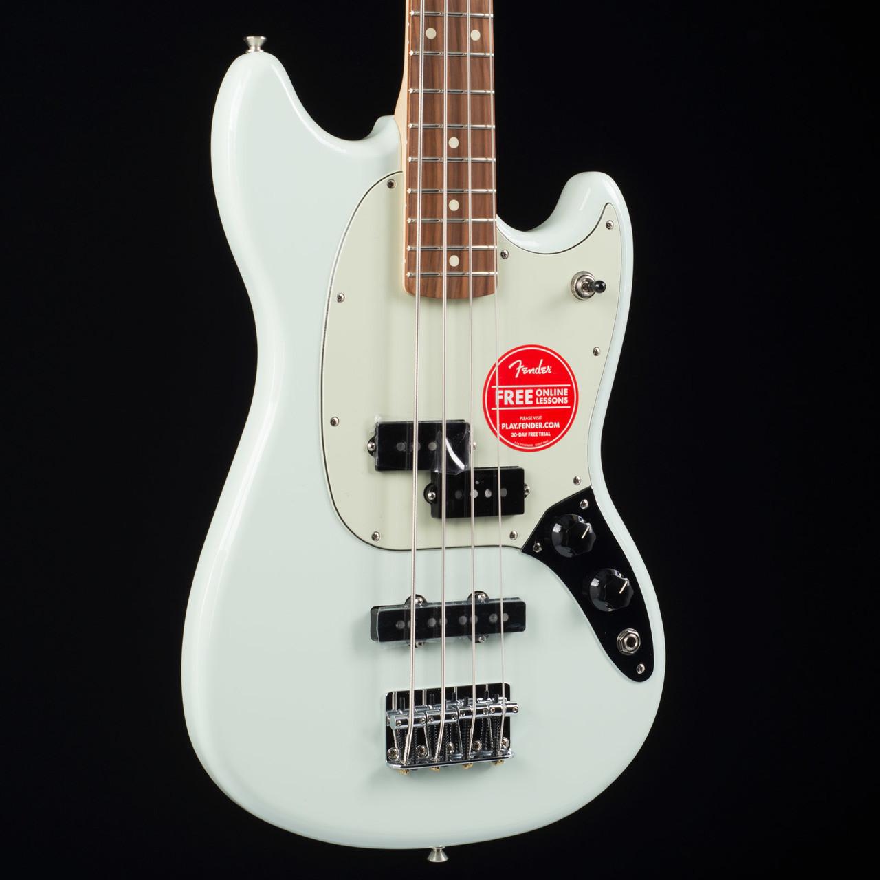 mustang bass pj sonic blue 9139