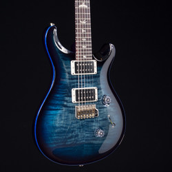 PRS Custom 24 Faded Whale Blue Smokewrap With Blue Binding 8931