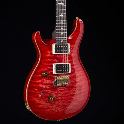 PRS Custom 24 Lefty Rosewood Neck Wood Library 10 Top Blood Orange 1374