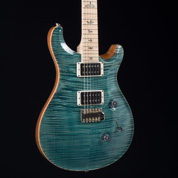 PRS Custom 24 10 Top With Flame Maple Neck Blue Crab Blue 2201