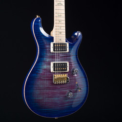 PRS Custom 24 Artist Wood Library Violet Blue Burst 3832