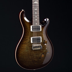 PRS Custom 24 10 Top Stained Flame Maple Neck Mash Green Tobacco Burst 0711