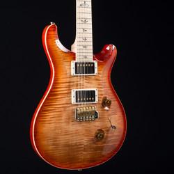 PRS Custom 24 10 Top Autumn Sky Flame Maple Neck 2025
