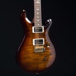 PRS Custom 24 10 Top Brazilian Rosewood Fretboard Black Gold Burst 3199