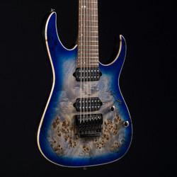 Ibanez RG1027PBF Cerulean Blue Burst 1755