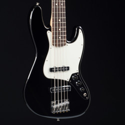Fender Standard Jazz Bass V Black 0759
