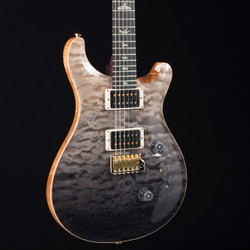 PRS Custom Rosewood Neck Wood Library 24 10 Top Gray Black Fade 4486