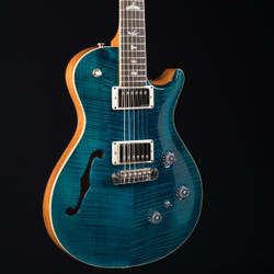 PRS P245 Semi-Hollow 10 Top Azul Blue W/OHSC 9577 USED