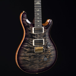 PRS Custom 24 Rosewood Neck Wood Library 10 Top Charcoal Purple Burst 4960