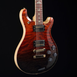 PRS McCarty 594 Cocobolo Fretboard  Artist Wood Library Fire Red Gray Black Fade 4846