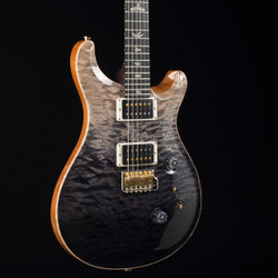 PRS Custom 24 Rosewood Neck Wood Library 10 Top Gray Black Fade 4844