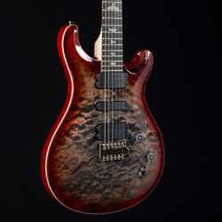 PRS 509 Korina Back Wood Library 10 Top Charcoal Cherry Burst 6091