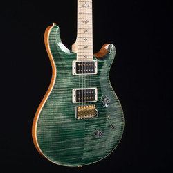 PRS Custom 24 10 Top Flame Maple Neck Faded Evergreen 6147