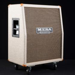 Mesa/Boogie 2x12 Rectifier Vertical Custom Fawn Slub Bronco Gold Jute Grille 7926