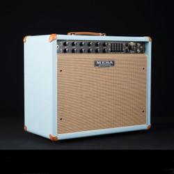 Mesa/Boogie Express 5:50+ 1x12 Combo Custom Baby Blue Bronco Tan Jute 1743 DISCONTINUED