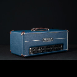 Mesa/Boogie TC-50 Triple Crown Head Custom Blue Bronco Brown Corners 1549