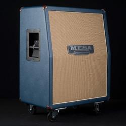 Mesa/Boogie 2x12 Rectifier Vertical Custom Blue Bronco Tan Jute Grille 7925