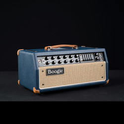 Mesa/Boogie Mark V 35 Head Custom Blue Bronco Wicker Front 0646
