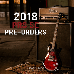 Click Here to See Our 2018 PRS SE Pre-Orders!