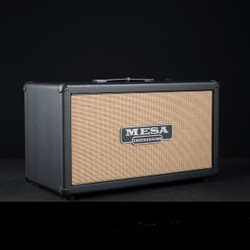 Mesa/Boogie 2x12 Compact Rectifier Cabinet Black Taurus Tan Jute Grille 7729