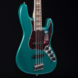 Fender American Elite Jazz Bass Streaked Ebony Ocean Turquoise 8388