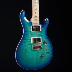 PRS Custom 24 10 Top Makena Blue Flame Maple Neck 6539