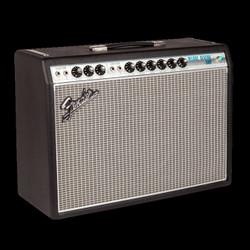 Fender '68 Custom Deluxe Reverb Black Silver 1978