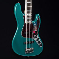 Fender American Elite Jazz Bass V Ocean Turquoise 7481