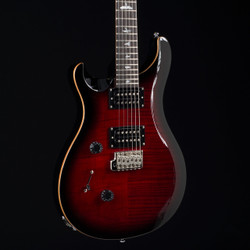PRS SE Custom 24 Lefty Fire Red Burst 0702