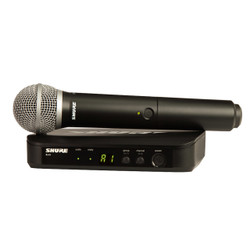 Shure BLX24/PG58-H9 Wireless Handheld Vocal System