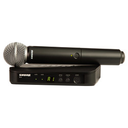 Shure BLX24/SM58-H9 Wireless Handheld Vocal System