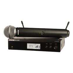 Shure BLX24R/SM58-H9 Wireless Rackmount Handheld Vocal System
