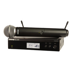 Shure BLX24R/SM58-H10 Wireless Rackmount Handheld Vocal System