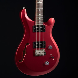 PRS S2 Custom 22 Semi-Hollow Red Satin Metallic 7434