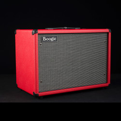 Mesa/Boogie 112 Widebody Closed Back Compact Cabinet Red Bronco Black Gray Grille 8854