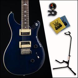 PRS SE Standard 24 Trans Blue W/ Bundle 6117