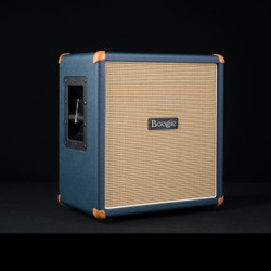Mesa/Boogie 1x12 Mini Rectifier Straight Cabinet Custom Blue Bronco 3276