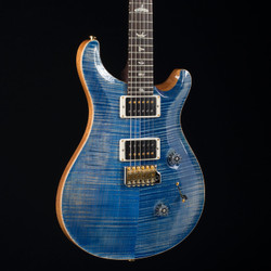 PRS Custom 24 10 Top Brazilian Fretboard Faded Blue Jean 9139