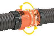 Camco RhinoFLEX Sewer Hose Swivel Straight Coupler