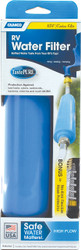 Camco TastePURE Fresh Water Filter (KDF) w/Flexible Hose Protector