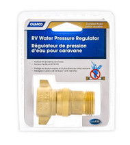 Camco Fresh Water Pressure Regulator - Brass