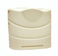 Camco Propane Tank Cover, Colonial White Fits 20# or 30# Dual Tanks